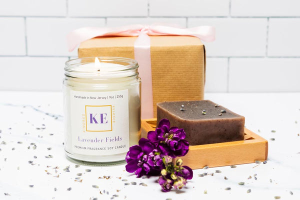 Lavender 3-Piece Spa Candle Gift Set