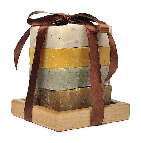 JenSan 5-Piece Organic Soap Gift Set