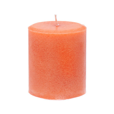 nutmeg cedar pillar candle