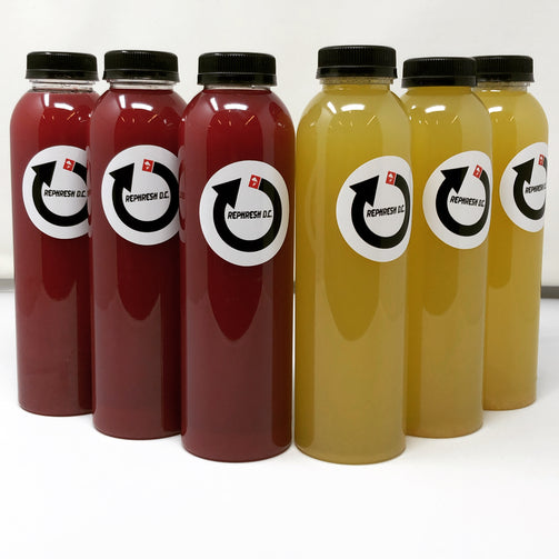 Cold press juice Washington DC Phresh Gourmet