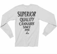Load image into Gallery viewer, Mens Quality Cannabis Long Sleeve