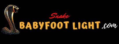 Snake Babyfoot Light™ : éclairage babyfoot