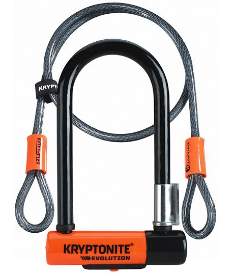 Cadenas Kryptonite Kryptolok Serie 2 Mini 7 / Cable 4Pi - KRYPTONITE - Accessoires de velos/Cadenas