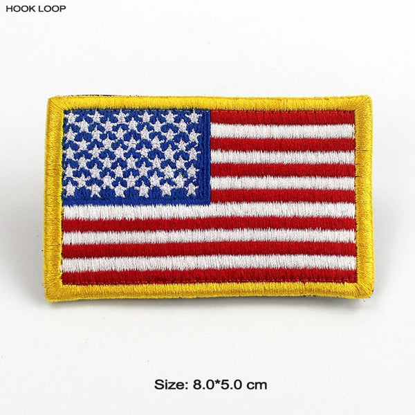 American Flag Velcro Patches