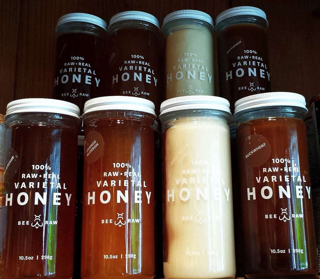 BEE RAW Single Varietal Honey