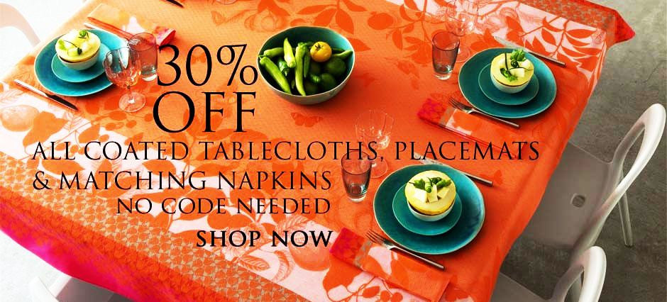 SPRING SALE 30% OFF Le Jacquard Francais Coated