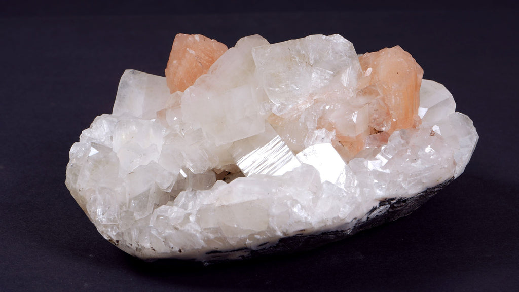 Peach Quartz Cluster - r. h. ballard shop