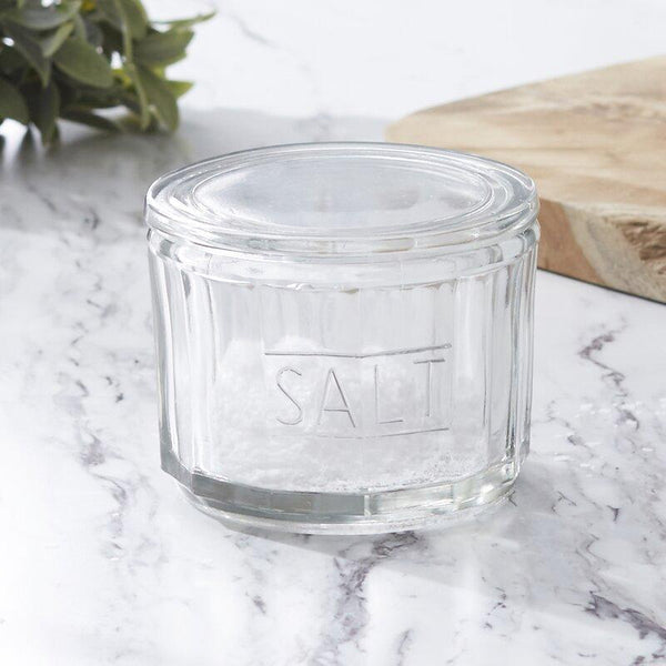 Glass Salt Cellar with Lid - r. h. ballard shop