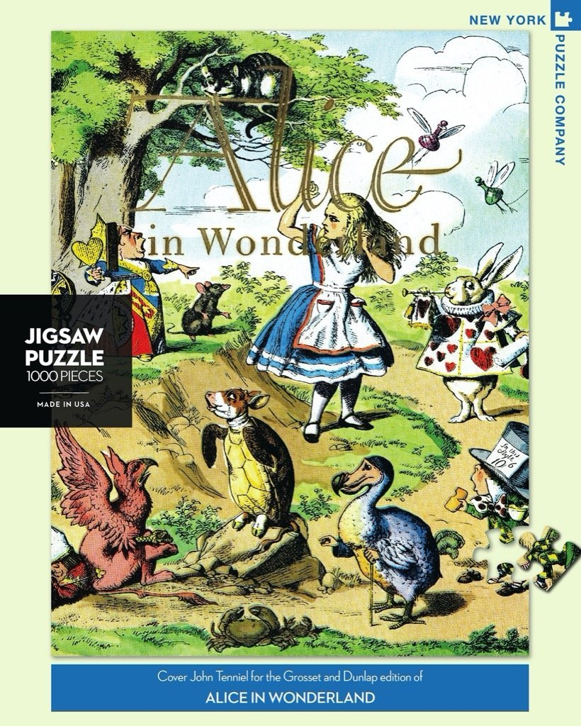 Alice in Wonderland Puzzle 1000 pc - r. h. ballard shop