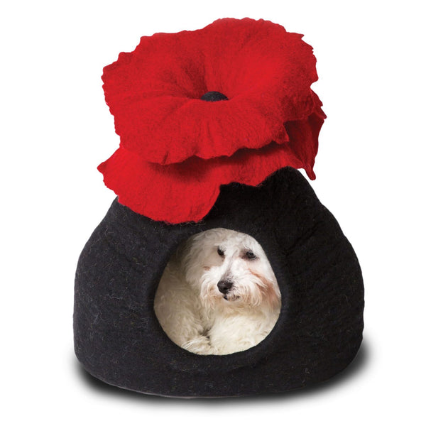Bouquet Poppy Cat Bed - r. h. ballard shop