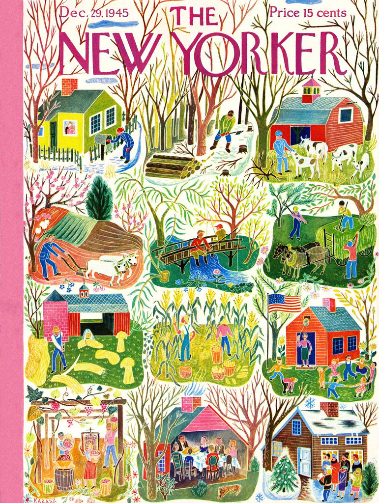 Farm Calendar 1000 pc - r. h. ballard shop