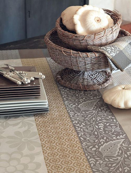 French Provence, Beige, Wipe Off Tablecloth
