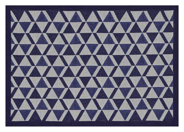 Bistronome Marcel Blue Coated Placemats Set of 2