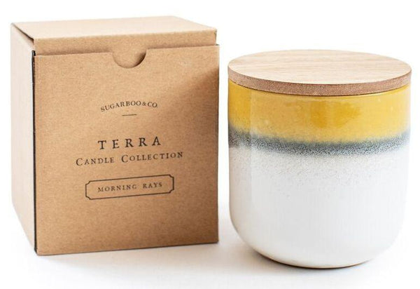 Terra Candle Morning Rays - r. h. ballard shop