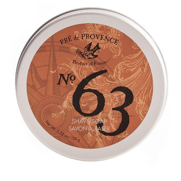 No. 63 Men's Shave Soap in Tin - r. h. ballard shop