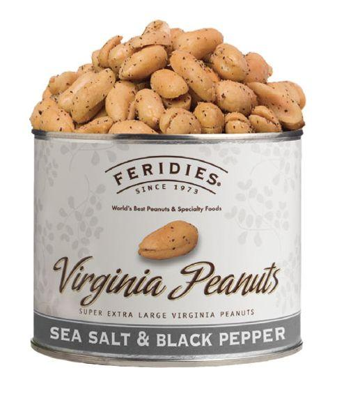 Virginia Sea Salt and Black Pepper Peanuts - r. h. ballard shop