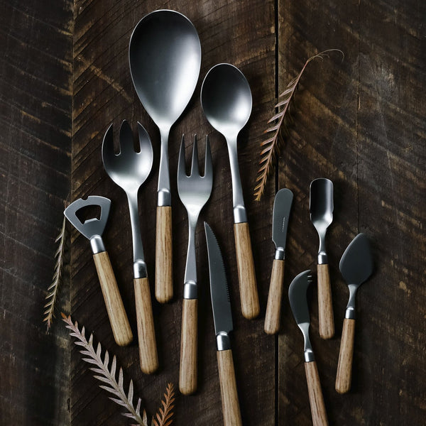 Albero Elm Italian Flatware Collection