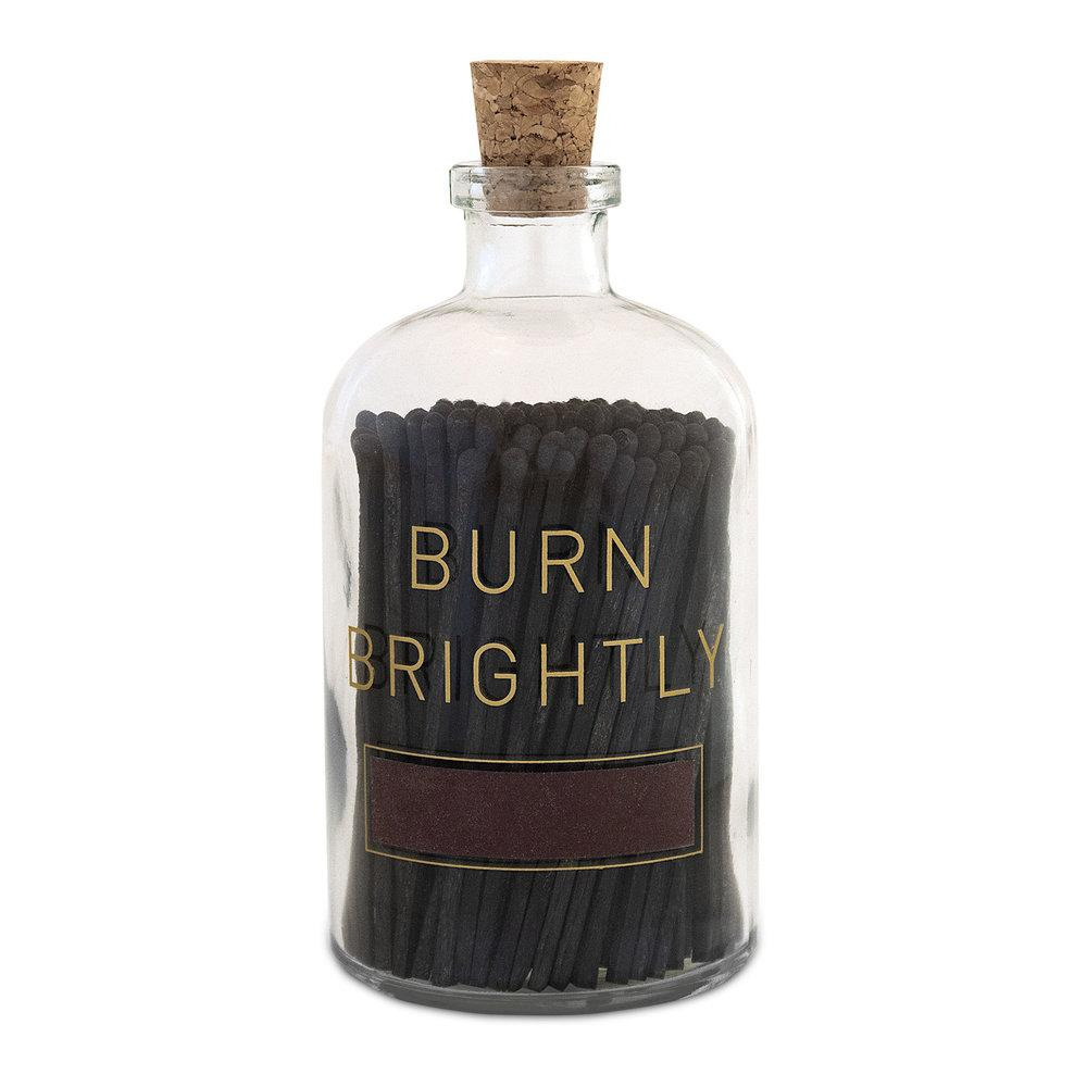 Burn Brightly Match Bottle - r. h. ballard shop