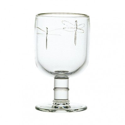 "French ""Dragonfly"" Wine Glass"
