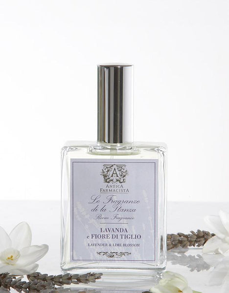 Lavender and Lime Blossom Room Spray Setting