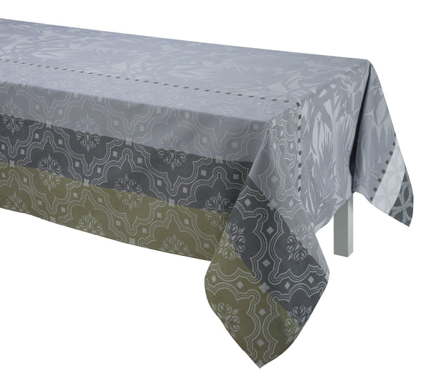 Bahia Grey Tablecloth