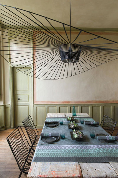 Bastide grey tablecloth