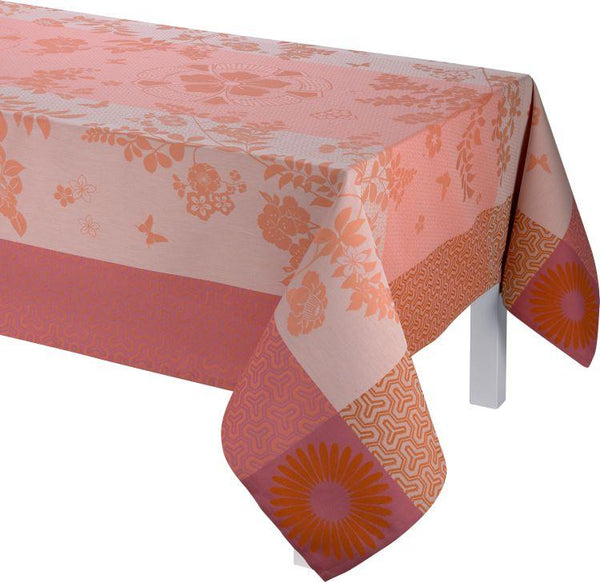Asia Mood Tea Pink Tablecloth