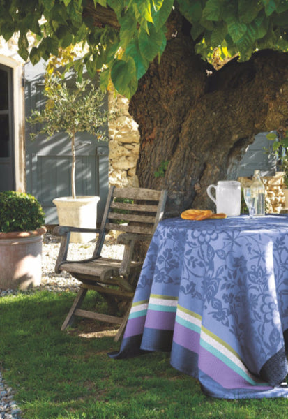 Provence, Lavender Blue Cotton Tablecloth