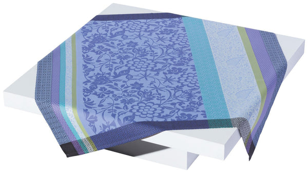 Lavender Blue Acrylic Coated Tablecloth