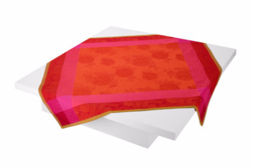 Parfums de Bagatelle Nasturtium Square Tablecloth