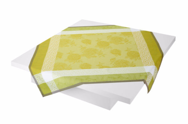 Parfums de Bagatelle Freesia Square Tablecloth