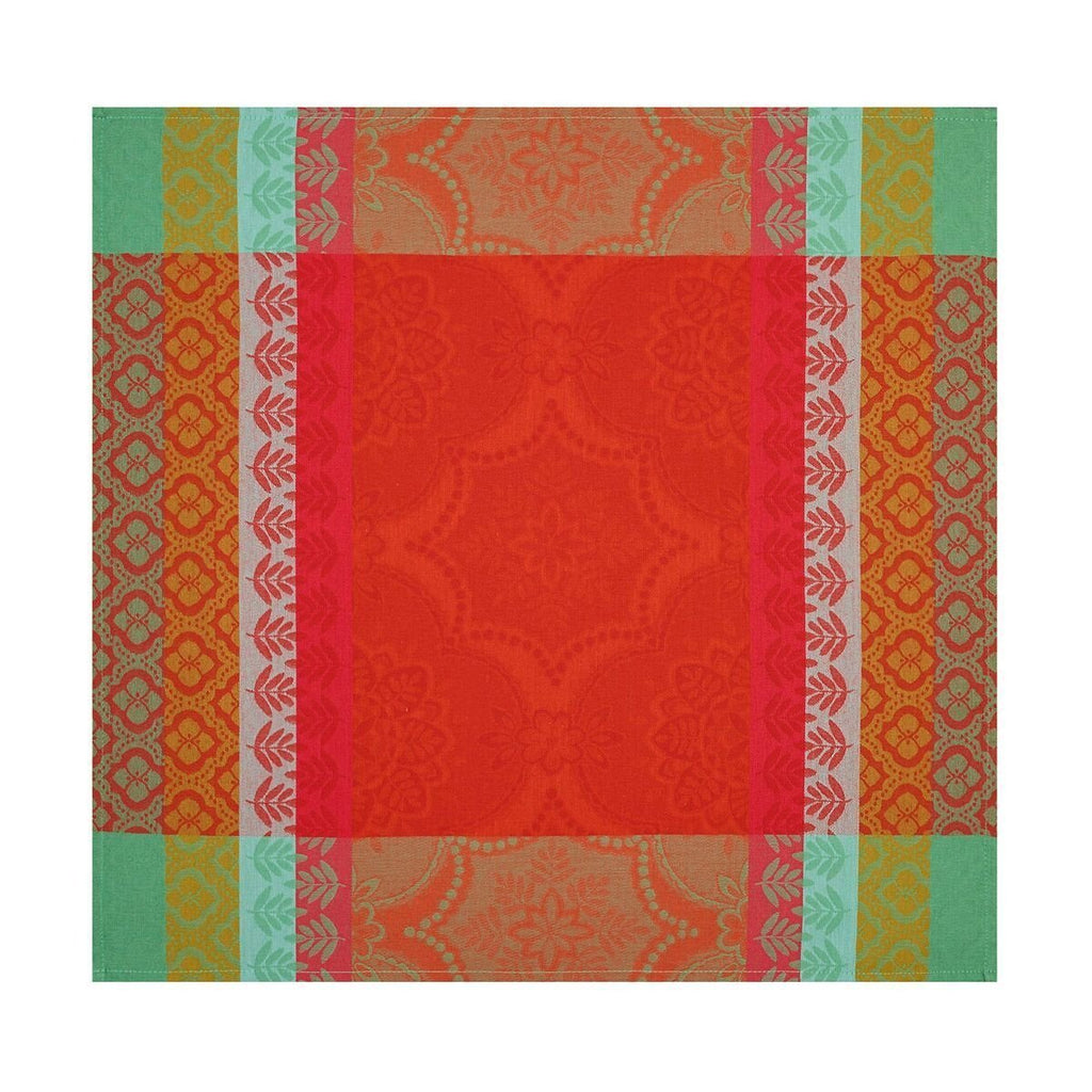 Bastide Red Pepper Coated Tablecloth - r. h. ballard shop