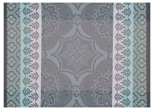 Coated Bastide grey placemat