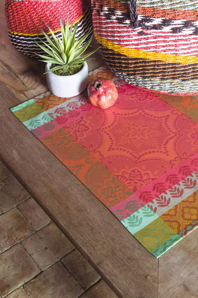 Bastide Red Pepper Placemats Set of 2 - r. h. ballard shop