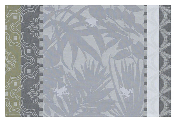 Bahia Grey Coated Placemats Set of 2
