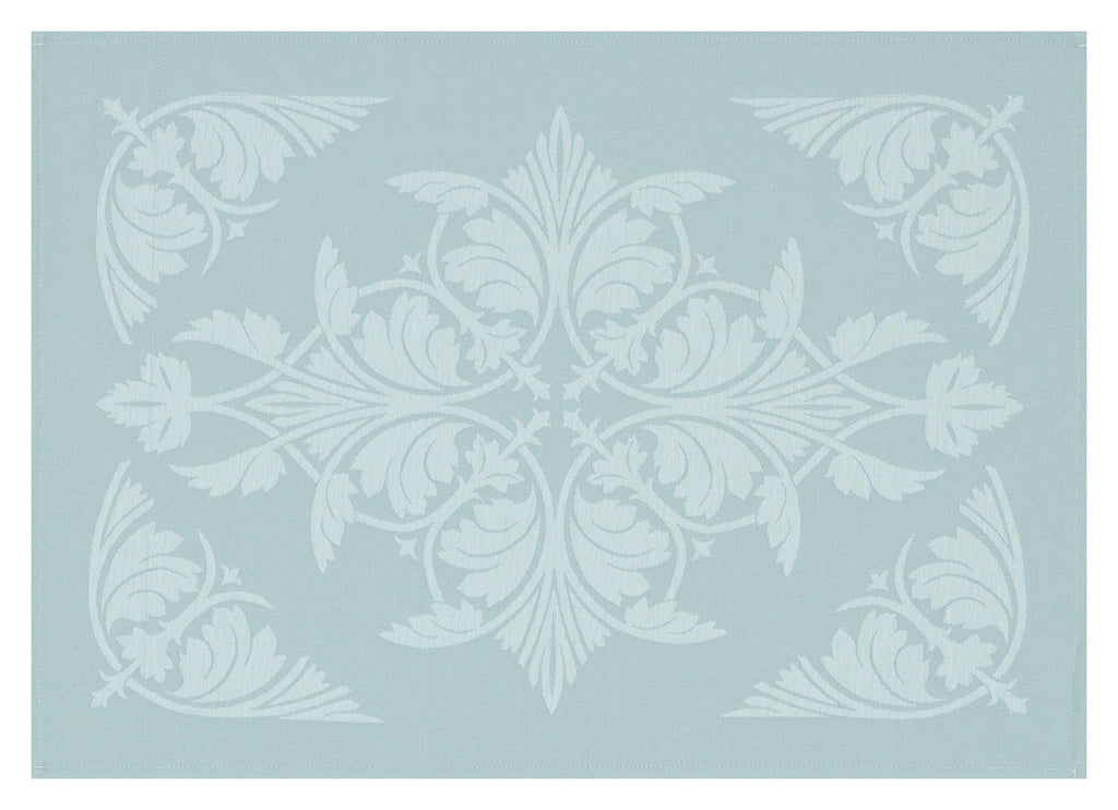 Syracuse Aqua Coated Placemats Set of 2