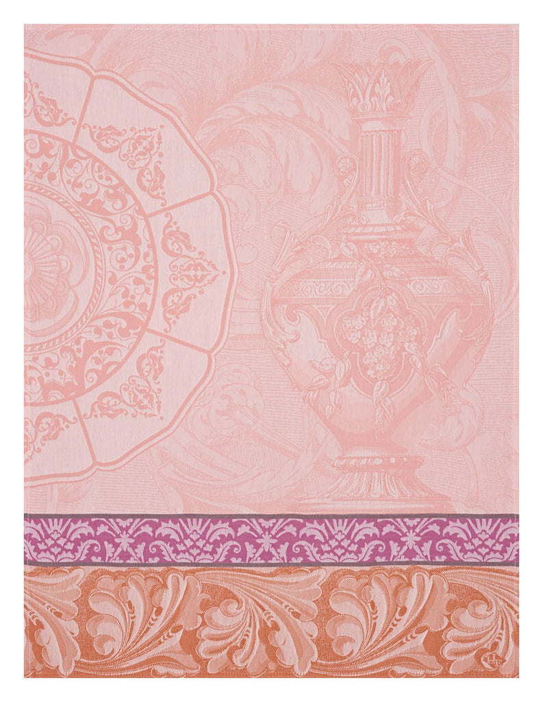 Baroque Porcelain Pink Towel - r. h. ballard shop