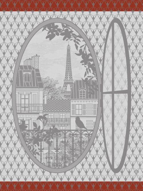 Fenetre Sur Paris Horizon Towel - r. h. ballard shop