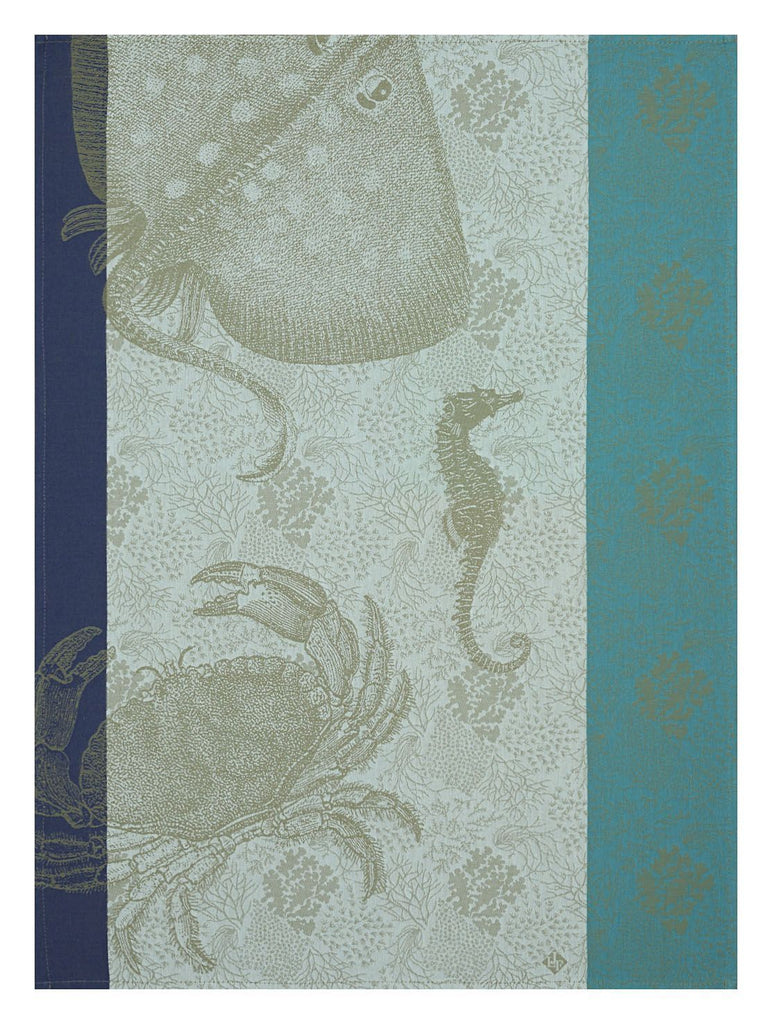 Fonds Marins Crabe Pacific Towel - r. h. ballard shop