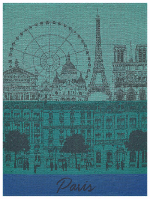 Paris Panorama Garden Towel - r. h. ballard shop