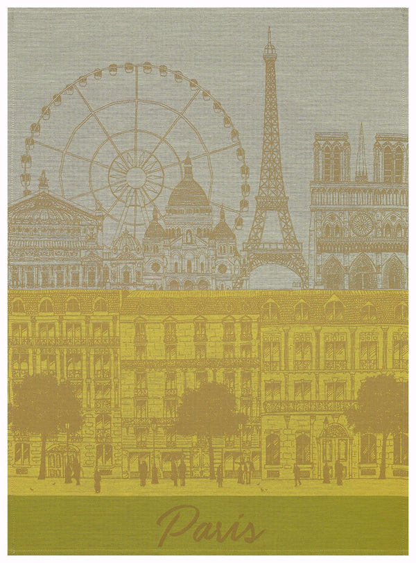 Paris Panorama Sun Towel - r. h. ballard shop