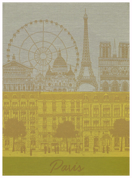 Paris Panorama Sun Towel