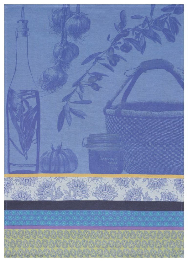 Saveurs de Provence Blue Towel - r. h. ballard shop