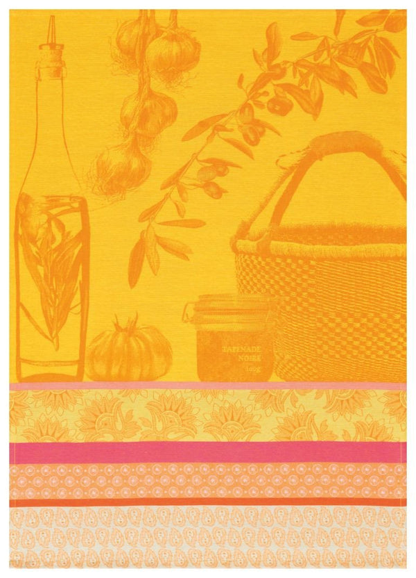 Saveurs de Provence Lemon Towel - r. h. ballard shop