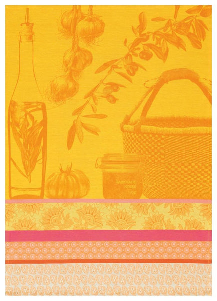 Saveurs de Provence Tea Towel, Lemon
