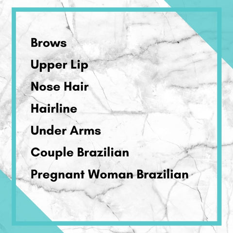 best waxing strips, nose waxing and brow waxing