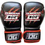 KIDS BLACK THAI-GER MUAY THAI BOXING GLOVES
