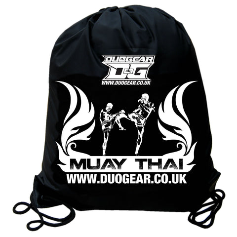 NYLON FLAMED MUAY THAI DRAWSTRING HOLDALL