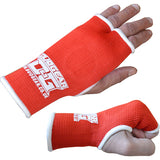 RED THUMBLESS BOXING INNER GLOVES