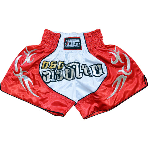 RED BLADE MUAY THAI SHORTS